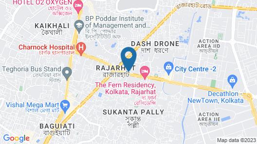 Holiday Inn Kolkata Airport, an IHG Hotel Map