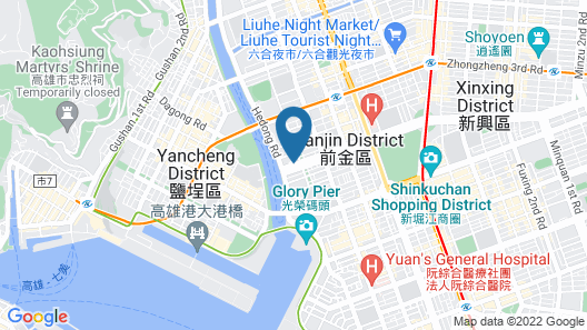 Ambassador Hotel Kaohsiung Map