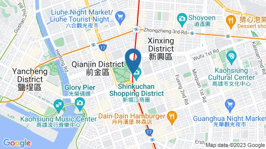 Hotel Indigo Kaohsiung Central Park, an IHG Hotel Map