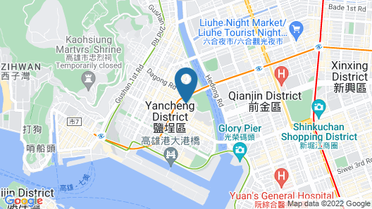 Chateau de Chine Hotel Kaohsiung Map