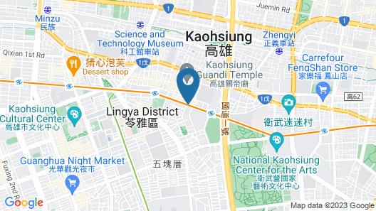 Just Sleep Kaohsiung Zhongzheng Map