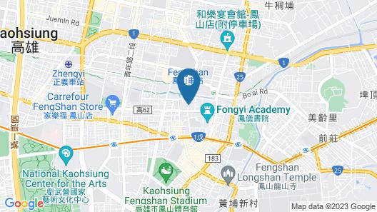 Leesing Hotel Map