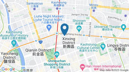 Hotel Dua Map