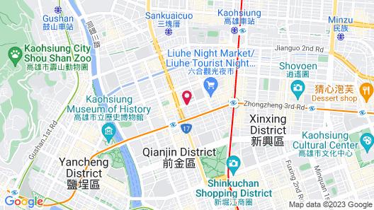 Jia's Inn Liouhe Map