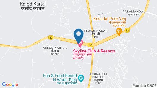 Skyline Club and Resorts Map