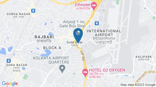 Holiday Inn Express Kolkata Airport, an IHG Hotel Map
