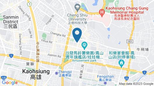 Leesing Motel Map