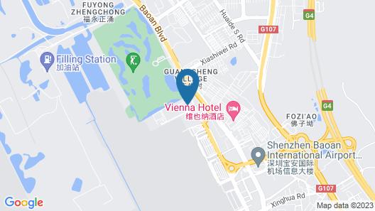 Jinjiang Inn Shenzhen Airport Map