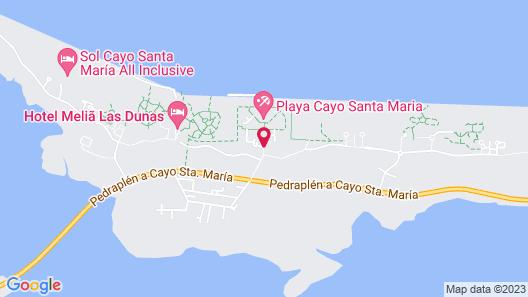 Villa Gaviota Cayo Coco Map