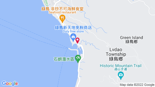 Green Island Bay Resort Map