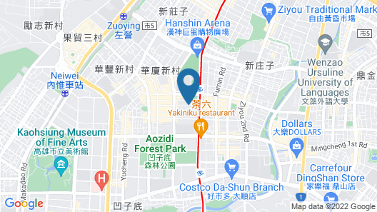 Park Lees Hotel Map