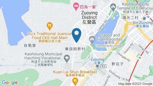 Hua Xiang Hotel-Zuoying Map