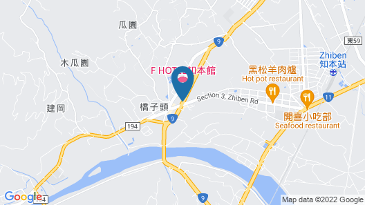 F Hotel Chihpen Map