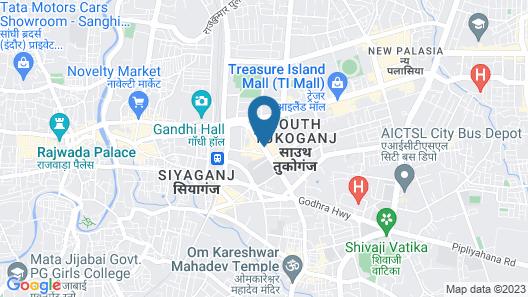Lemon Tree Hotel, Indore Map