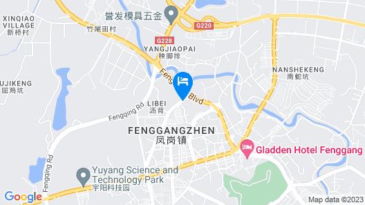 Gladden Hotel Map