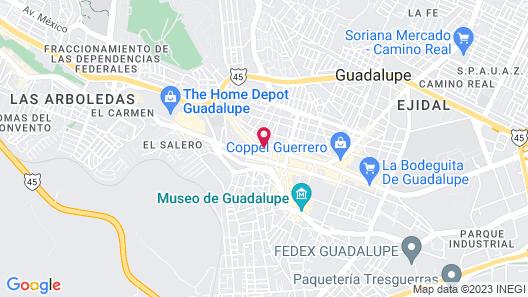Hotel Conquistadores Map