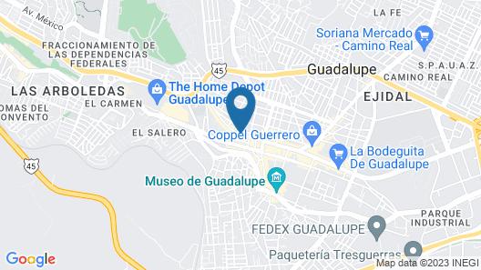 Hotel Posada de la Parroquia Map