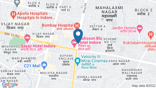 FabHotel Prime Avenue Map
