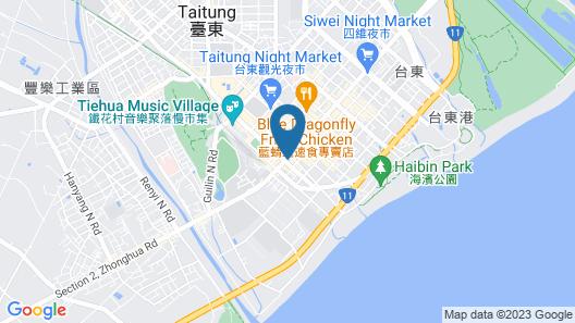 Fish Hotel-Taitung Map