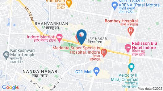 Sayaji Indore Map