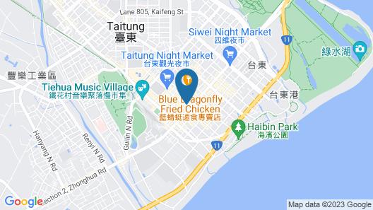 Traveler Hotel Map