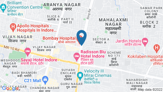 OYO 9903 Hotel Care Residency Map