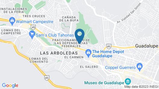 Hotel Gracia Map