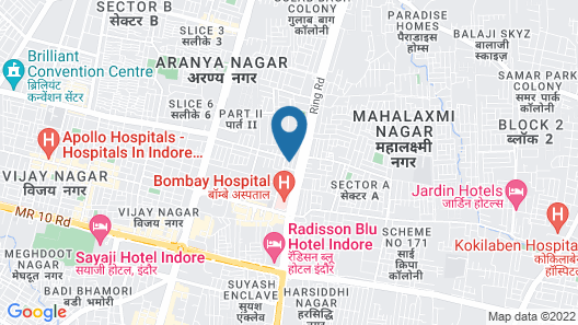 Fairfield by Marriott Indore Map
