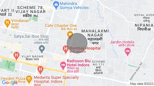 Collection O 45841 Chikitsak Nagar Map