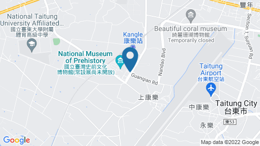 Taitung Cultural Excursion Resort Map