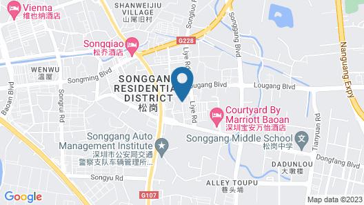 Courtyard by Marriott Shenzhen Bao'an Map