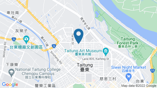 Kindness Hotel-Taitung Map