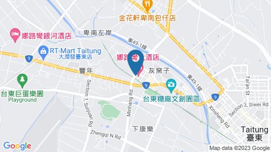 Formosan Naruwan Hotel & Resort Taitung Map