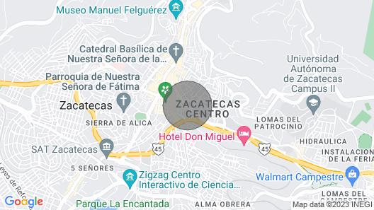 Departamento Nuevo Céntrico en 3er Piso Map