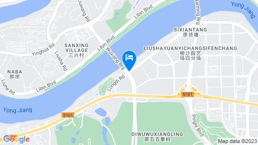 Wanda Realm Resort Nanning Map