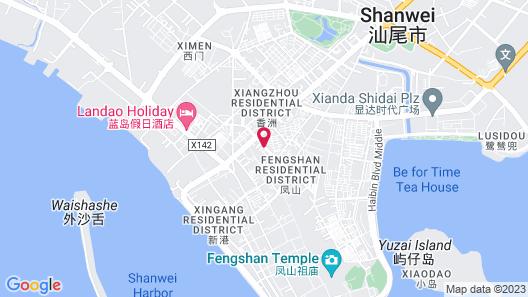 Lavande Hotel Shanwei Branch Map