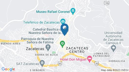 Santa Rita Hotel del Arte Map