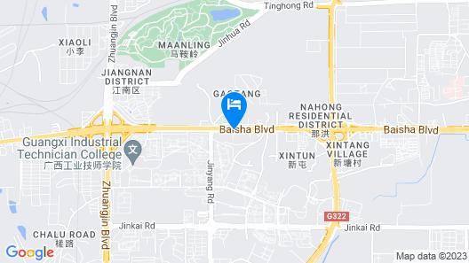 Hampton by Hilton Nanning Jiangnan Map