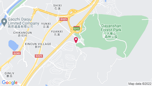 Four Points by Sheraton Guangdong, Heshan Map