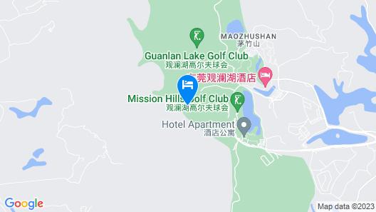 Mission Hills Resort Dongguan Map
