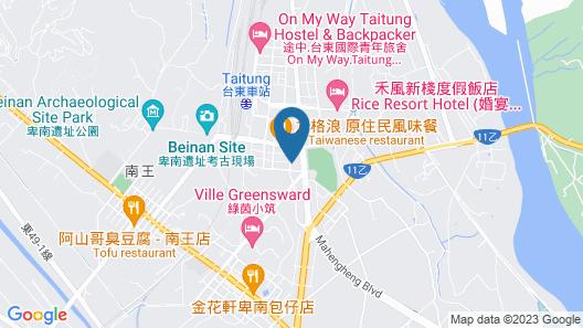 H& Taitung Fun Trip holiday homestay Map