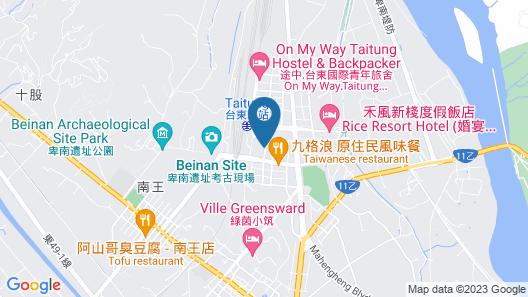 Hotel Cham Cham Taitung (Caesar Park Hotels & Resort) Map