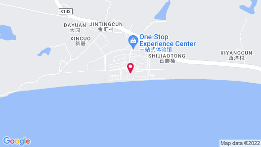 DoubleTree by Hilton Shanwei Map
