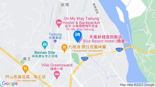 Formosan Naruwan Garden Hotel Map
