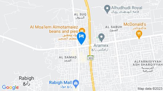 Arabian Palm Hotel Map