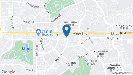 Crowne Plaza Nanning City Center, an IHG Hotel Map