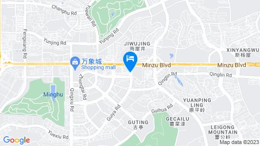 Crowne Plaza Nanning City Center Map