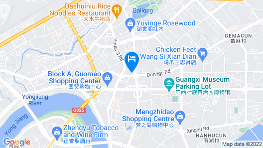 Floral Hotel Nanning Lige Holiday Map