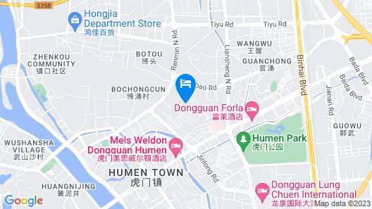 Mels Weldon Dongguan Humen Map