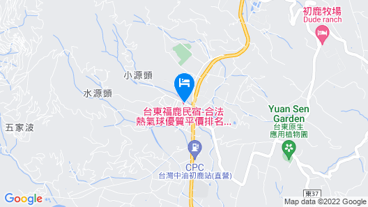 Taitung Fulu Homestay Map